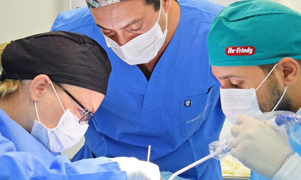 3ημέρες Ζωντανά Χειρουργεία Τοποθέτησης Εμφυτευμάτων